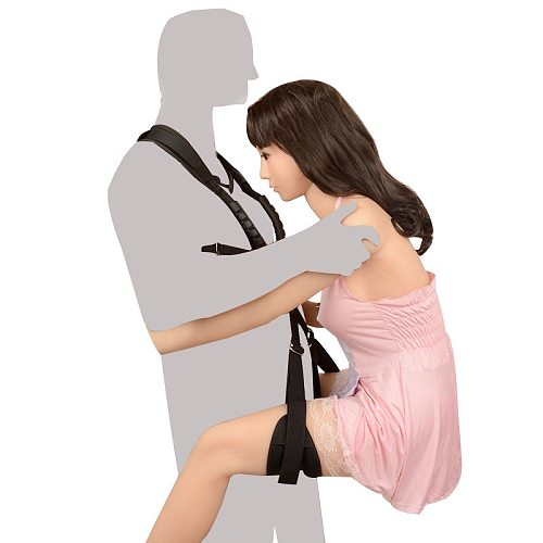 Bdsm Sex Swing Plush Bondage Restraints Open Leg Spreader Couple Flirting Handcuffs Swing SM Game Sex Toys For Women
