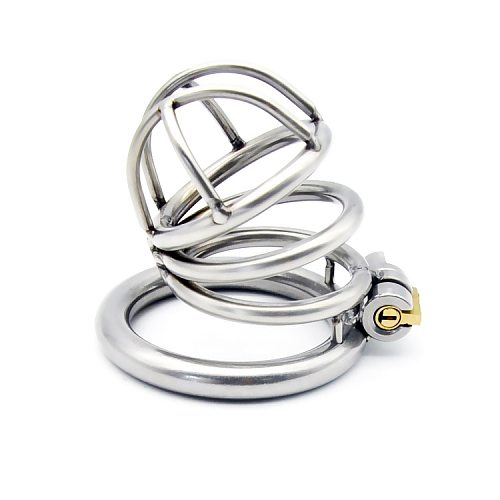 2020 Male Metal Chastity Belt Cage Vent Hole Device Rings Design Small Male Urethral Sound Dilator Stealth Locks Sex