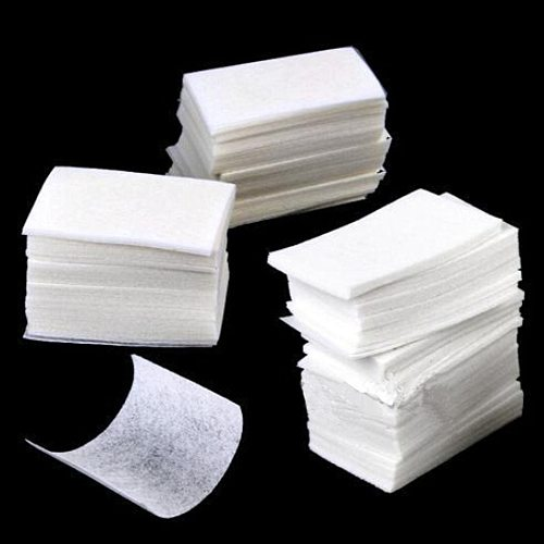 400pcs/set Nail Art wipe Manicure Polish gel nail Wipes Cotton Lint Cotton Pads Paper Acrylic Gel Tips Nail Art Cleaner Remover