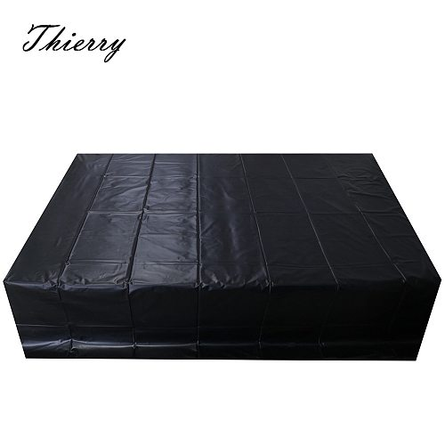 Thierry 2x2.2m big size Patent leather Waterproof sex sheets sex furniture for couples,  Auxiliary sex products for adult games