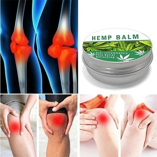 Hemp Cream Anti-inflammation And Pain Relief Max Strength 30ml And Acne Treatment Herbal CBD Hemp Seeds Cream Relief Arthritis