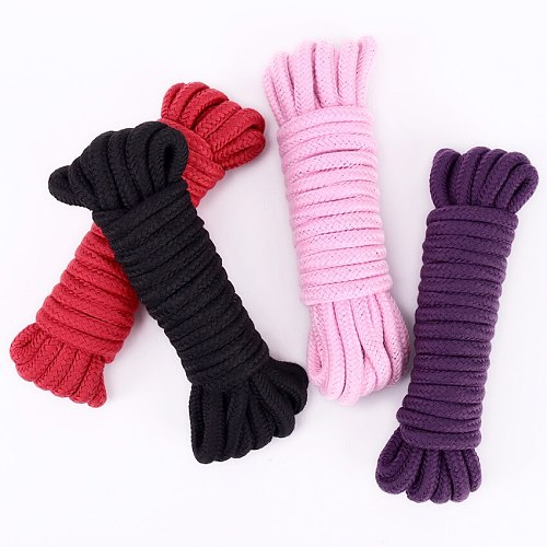5M SM Rope SM Bondage Rope Sex Product For Adult Femdom Bondage Sex Cotton Rope for Women Couples Game