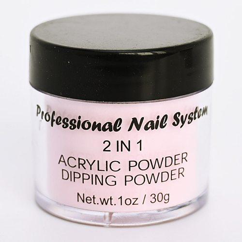 10Jars (ounce/jar) fast dry nail dipping powder acrylic French nails 3 in 1 match color gel polish nail lacuqer dip powder VQ1