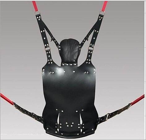 Top Leather New Sex Swing Bundled Tools Hammock Multi-function Berth Trapeze Bed Game Furniture Bdsm Toy SM451