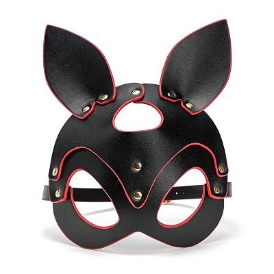 Porn Fetish Head Mask Whip BDSM Bondage Restraints PU Leather Cat Halloween Mask Roleplay Sex Toy For Men Women Cosplay Games