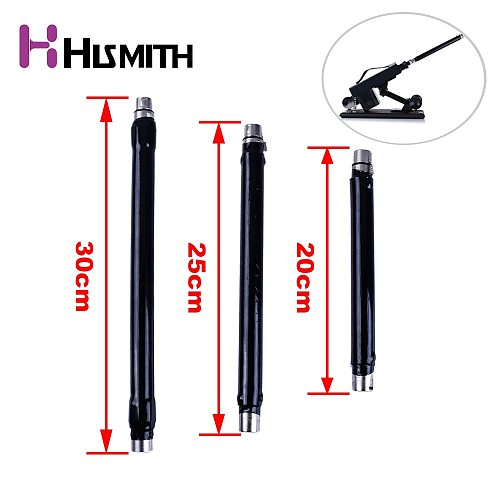Hismith 20cm/25cm/30cm Tube Sex Machine 3 XLR Connector Extension Tube Increase Use Distance Extension Rod Machine Accessories