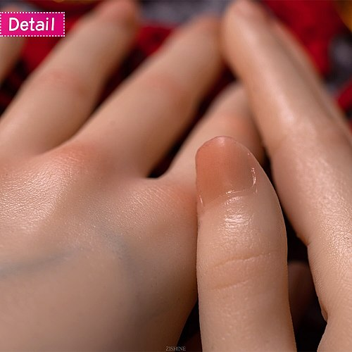 Human Female hand finger Model Nail Drawing Jewelry Display Art Posable Adjustable Artist Practice Liquid Silicone TGDW03