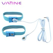 VATINE Sex Toys for Men Penis Stimulator Electric Shock With Cable Medical Themed Toys Penis Extender 2 Pieces Cock Rings