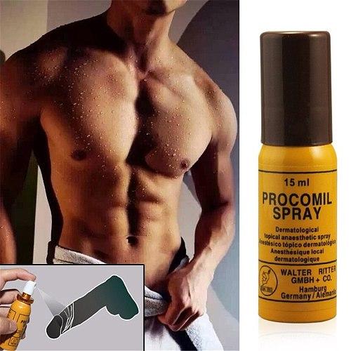 Peineili Sex Delay Spray for Men Male Procomil Spray Keep Long Time Spray Extenal Men External Use Anti Premature Ejaculation