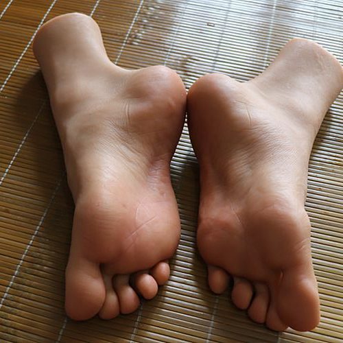 Stockings Mannequin Male Foot Model Cloned Rubber Plastic for Art Silicone Male Female TPE ZISHINE 4301