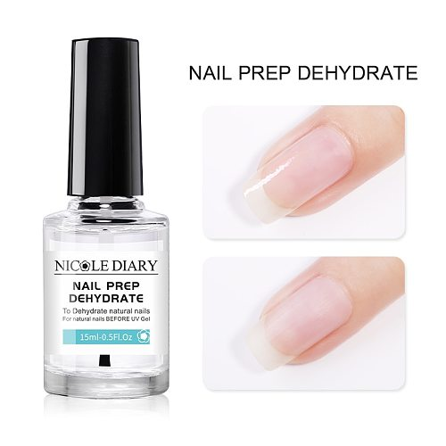 NICOLE DIAYR Nail-Primer Nail Prepdehydrate for UV Gel Matt Top Base Coat UV Gel Nail Polish Long Lasting Gel varnish Varnish