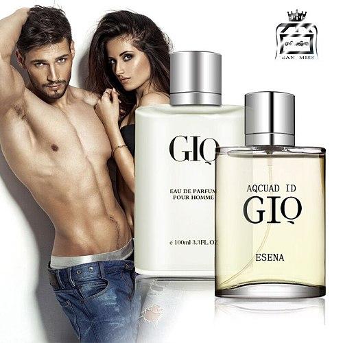 Original 100ML Perfume Men Fresh Long Lasting Eau de Toilette Temptation Pheromones Cologne Parfum Male Spray Bottle Fragrance