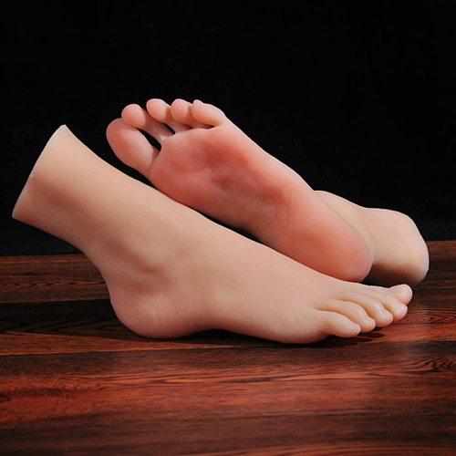 Mannequin Foot Model Greek feet Shoe Socks for Art Silicone Fake Nail Display Tarsel Silicone Female Female Male fetish 3901
