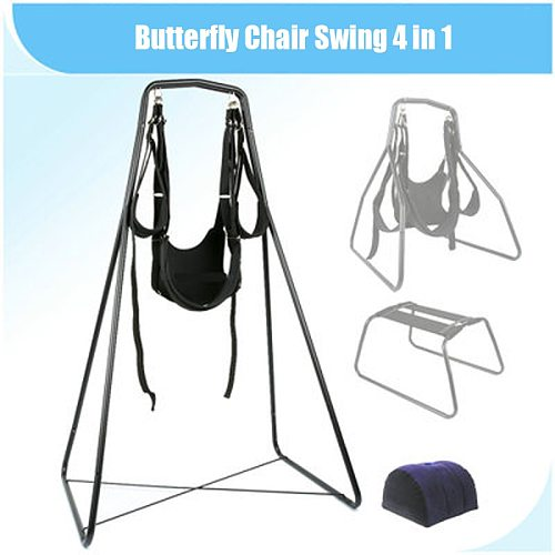 Butterfly chair multi-purpose sex swing four-in-one sex toy sling set toy swing chair stool multi-functional furniture