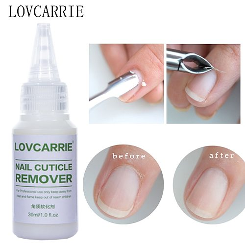 LOVCARRIE Cuticle Remover Gel Softener Cuticle Oil Manicure Gel Nail Art Tools for Exfoliant Soften Nails Dead Skin Eliminator