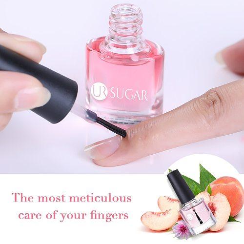 UR SUGAR Nail Cuticle Oil Transparent Cuticle Revitalizer Nutrition Oil Flower Flavor Nail Art Treatment Care Tools