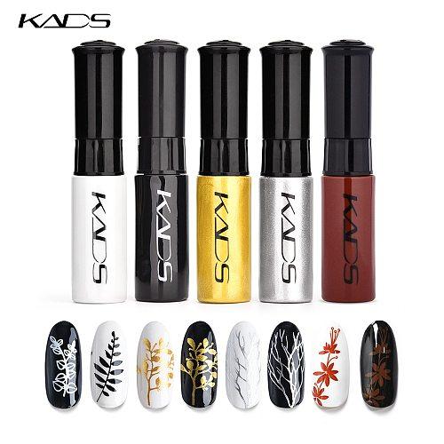 KADS Nail Stamping Polish Kit Stamping Nail Polish set Nail Art polish Manicure Lacquer Stamping lacquer for template nails