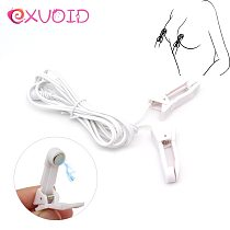 EXVOID Breast Flirting Toys Electric Shock Accessory Clitoris Clip Stimulator Nipple Clamps Labia Clips Sex Toys For Couples
