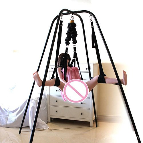 TOUGHAGE Sex Swing Chair Hammock Set Hanging Position Enhancer With Wrist Restraints Clamp Belt For Couples Restraints Sex Toys