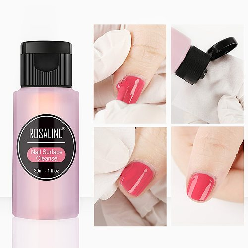 30ml Nail Degreaser Removes Excess Gel Enhances Shine UV LED Nail Gel Polish Remover Tools Nail Art Brush Pen Cleaner Liquid