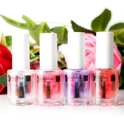 Beautilux 1pc Cuticle Oil Moisturer Nail Skin Treatment Protector Natural Essential Conditioner Agnail Softener Revitalizer 10ml