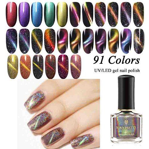 BORN PRETTY 3D Magnetic Nail Polish Auroras Nails  Glittering Magnet Nail Art Varnish for Nail Design