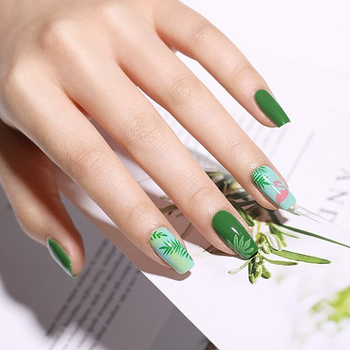 BORN PRETTY 15 Color Summer Series Nail Stamping Polish Newly Sweet Style  Plate Printing Varnish Candy Nail varnish