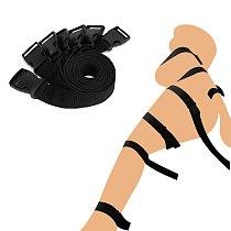 EXVOID 7PCS/Set Harness Strap Handcuffs Slave SM Bondage Belt BDSM Bondage Rope Fetish Adult Sex Toys For Couples Restraints