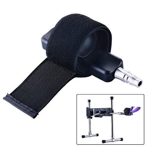 HISMITH Sex Machine attachments Muti-Function Bandage for Sex Toy Compatible with Male Masturbation Cup and Vibrator sex product