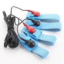Male Penis Extender Enlargement Electro Shock Sex Set Electrical stimulation Cock Rings Electro Medical Sex Toys For Men