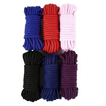 2m/5m/10 m Cotton Rope Female Adult Sex products Slaves BDSM Bondage Soft Cotton Rope Adult Games Binding Rope Role-Playing Sex