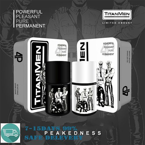 New 40ml R.S.  Delay Spray poppers Stronger  Rush TITANMEN 4P  for Men Liquid with 3 Balls Gay Sex Toys Couples Enhancer Orgasms
