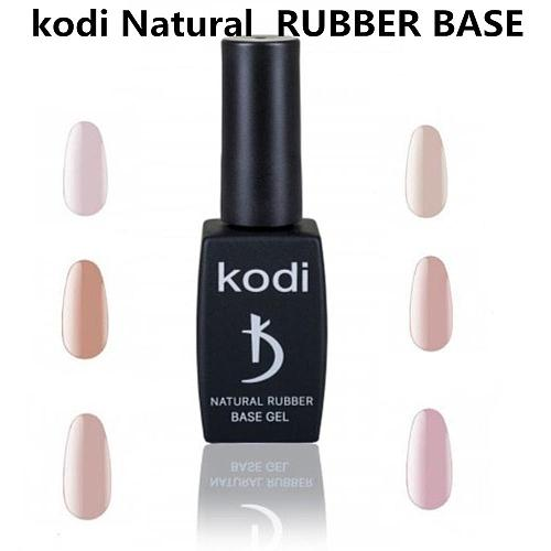 KODI Nude Color Jelly UV Gel Natural Rubber Base Nail Polish Translucent Semi Permanent Nail Art Lacquer Base Top Coat Gellak