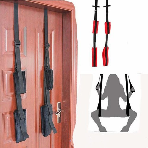 Thickened foam Sex Swing Adult BDSM Game Fetish sex Bondage soft material Swing on the door for women Couple Flirting Supplies
