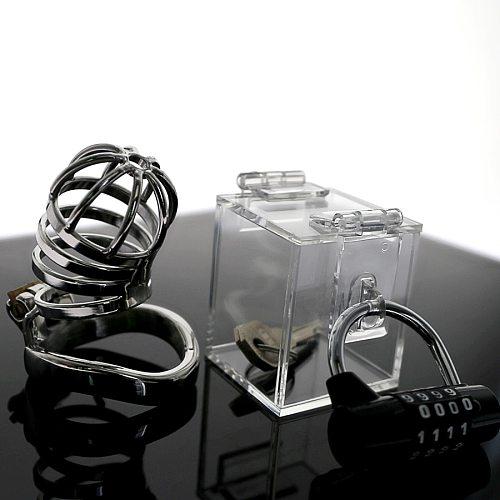 The Chastity Key Safe  key holder keyholder THE CHASTITY KEY SAFE Chastity Game with  Acrylic sexy box sexy toy 2019