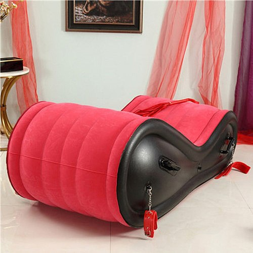 JayCreer Sex Furniture - Inflatable Positioning Sofa,Red Color