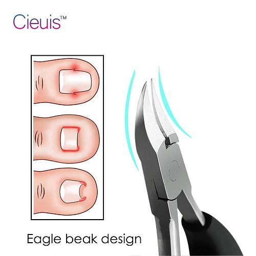Nail Clippers Nippers Cuticle Cutters Manicure Tool Pedicure Toe Nail Clipper Ingrown Toenail Podiatry Correction for Dropship
