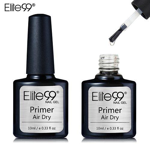 Elite99 10ml Fast Air Dry Primer in Air Base Gel No Need Of UV/LED Lamp Nail Polish Long Lasting Gel Lacquer For Nail Art Design