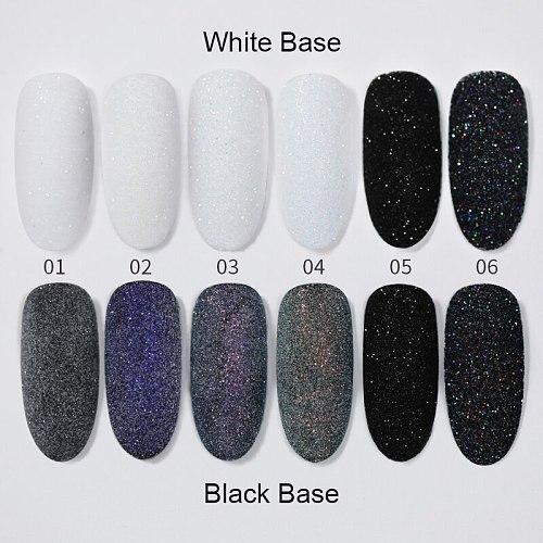 1Box Sugar Nail Powder Glitter Nail Dust Powder Laser Gradient Nail Pigment Coloful Glitter Nail Art Decoration Accessories