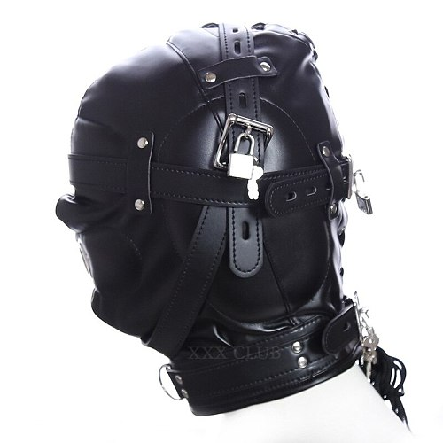 Thierry the Total Sensory Deprivation Hood, new sensory experience, Fetish bondage sex toys for couples adult games,4 styles