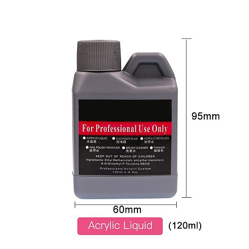 75/120/150ML Acrylic Liquid Nail Art Professional Use Nail Art Salon Manicure Tools Acrylic Liquid Gel Polish Nails Tool SJF02