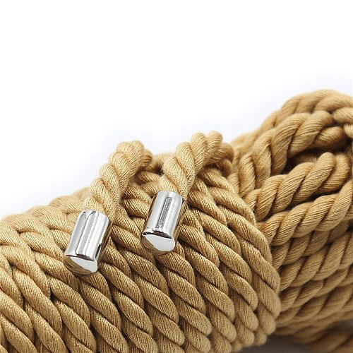 2021 5M/10M BDSM Bondage Rope Restraint Slave Role Cospaly Toys Exotic Sex Accessories Adult Games Shibari Hogtie SM Rope