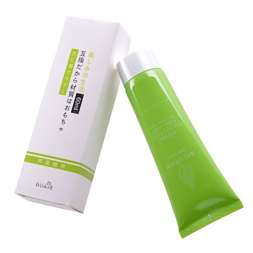 60ml Sex Lubricant Water-based Sex Oil Vaginal Anal Gel Lubricant Silk Touch Body Massage Oil Sex liquid for Couples Sex shop