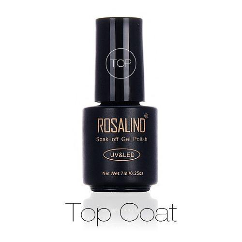 ROSALIND Multi-use top gel nail polish keep color coat nail art desgin lasting and protect nails surface for gel varnish
