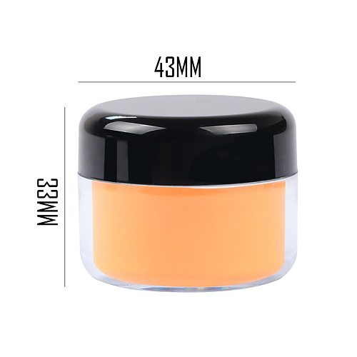 15g Skin Color Acrylic Powder Extend Extend Nail Gel Dust Nail Art Design Carved Powder Pigment Accessories