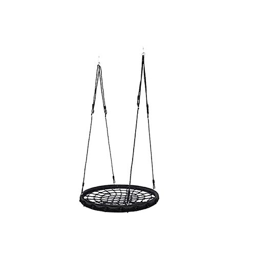 2020 new hammock swing indoor and outdoor picnic swing garden play round 100cm nest net rope swing swing
