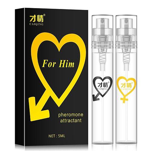 5ml Pheromone Perfume Aphrodisiac Woman Orgasm Body Spray Flirt Perfume Attract Girl Scented Water for Men Lubricants for Sex