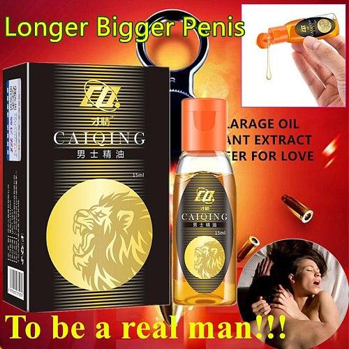 New 2021 15ML Penis Thickening Growth Man Big Dick Liquid Cock Erection Enhance Men Health Care Enlarge Massage Enlargement Oils