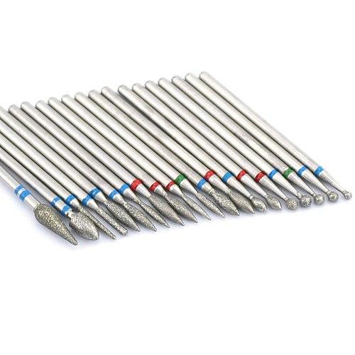 1pcs Milling Cutter Diamond Nail Drill Rotary Bits Milling Cutter For Manicure Burr Cuticle Clean Drill Bit Electric Cutter
