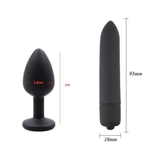 10/12/35/7 PCS Bondage Restraints Kits BDSM Sex Handcuffs Whip Anal Plug Bullet Vibrator Erotic Sex Toy For Couples Adult Games